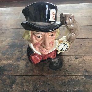 Royal Doulton vintage Mad Hatter small jug